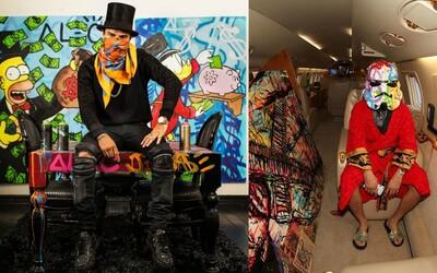 Alec Monopoly: Pouličný umelec, ktorý sa od ilegálnych malieb prepracoval k súkromným letom a luxusným autám