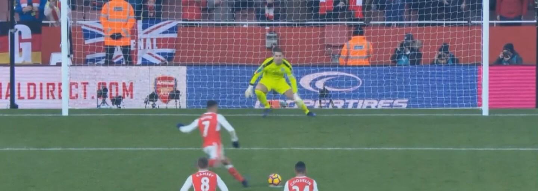 Alexis Sánchez rozhodl nádhernou penaltou po vzoru Antonína Panenky v nastavené 98. minutě