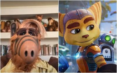 Alf sa vrátil vo vtipnom videu, aby si robil srandu z grafiky hier na PS5