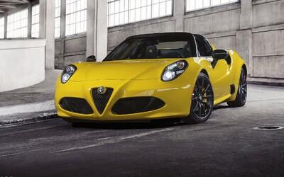Alfa Romeo 4C Spider: Malá raketa bez strechy konečne v produkčnej verzii