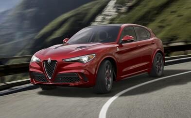 Alfa Romeo velkolepě vstupuje do segmentu SUV. Nové Stelvio sází na emotivní design a až 510 koní!