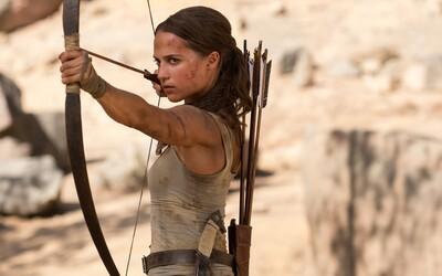 Alicia Vikander je lepší Lara Croft než Angelina Jolie. Tomb Raider jako film však videoherní kletbu v kinech nezlomil (Recenze)