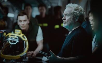 Alien: Covenant posúva ďalšie omrvinky. Dozvedeli sme sa niečo o efektoch a zameraní novej postavy