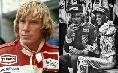 Alkohol, kokain a rychlá auta. Závodník James Hunt neměl nouzi ani o ženy, vyspal se s více než 5 tisíci