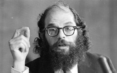 Allen Ginsberg: Účast při vzniku hippies, pravidelná konzumace drog a mimořádně hluboká tvorba s ponurým nádechem, která není pro každého