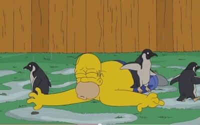 ALS Ice Bucket Challenge podstúpil už aj Homer Simpson. O zábavu je samozrejme postarané