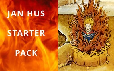 Alza znechutila ľudí svojou spomienkou na upálenie Jána Husa. Propaguje Jan Hus Starter Pack s produktmi zameranými na oheň