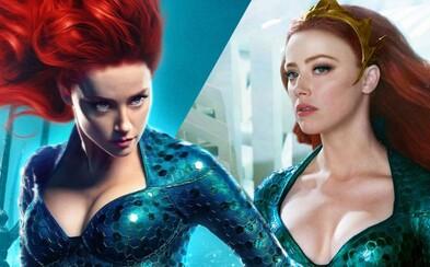 Amber Heard odmieta odstúpiť z role Meery v Aquamanovi 2. Ľudia dožadujúci sa jej odchodu sú podľa nej zaplatení