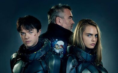 Ambiciózne sci-fi Valerian ukazuje lákavé zábery z natáčania, Caru Delevingne a hromadu dobrej nálady