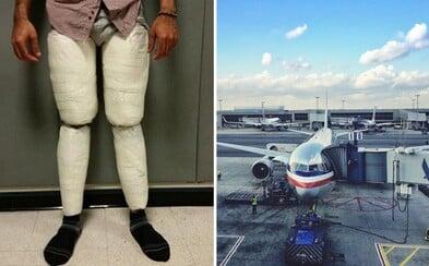 Američan chcel prejsť cez letisko JFK s 5 kilami kokaínu v nohaviciach. Drogy za 150-tisíc eur mal trúfalo prilepené na nohách