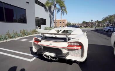 Američan dostal své upravené Bugatti Chiron v bílé edici Hermès. Čekal na něj 4 roky