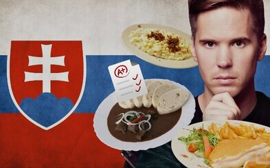 Američan sa vydal na cestu po zasneženom Slovensku a nezabudol popritom ochutnať naše typické jedlá