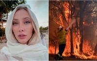 Američanka, ktorá posiela svoje nahé fotky za príspevok pre horiacu Austráliu, už výzvu odvolala. Žiadosti nestíha vybavovať