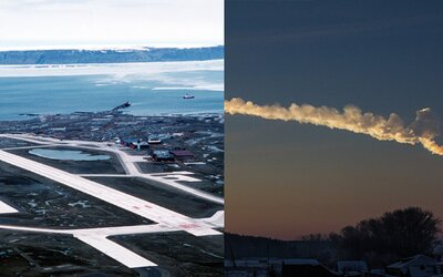 Americká vojenská základňa tajila dopad meteoritu len pár desiatok kilometrov od nej. Konšpirátori už mali tajomné domnienky