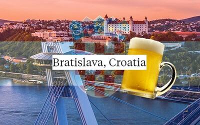 Americký portál Insider premiestnil Bratislavu do Chorvátska. Najlacnejšie pivo teda majú v našom hlavnom meste pri slovenskom mori