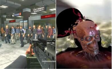 Americký prezident nechal vyrobit video plné násilných her, které má dokazovat jejich škodlivost. Má už desítky tisíc dislajků
