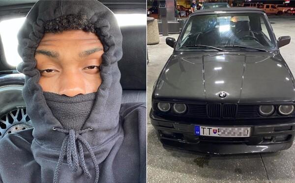 Americký raper sa na Instagrame chválil autom s trnavskou ŠPZ-kou. Polícia zistila, že sa po nej pátra