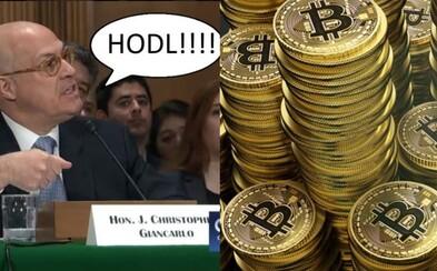 Americký regulátor použil internetové meme o kryptomenách pred senátormi. Vysvetlil im, že novým technológiám netreba klásť polená pod nohy