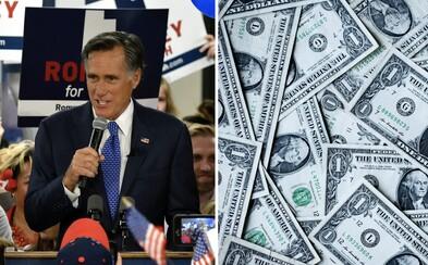 Americký senátor navrhuje, aby každý dospelý v USA dostal 1 000 dolárov. Majú pomôcť zmierniť dopady koronavírusu na domácnosti