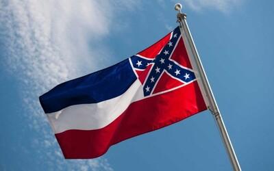 Americký štát Mississippi ide meniť vlajku. Chce z nej odstrániť znak Konfederácie