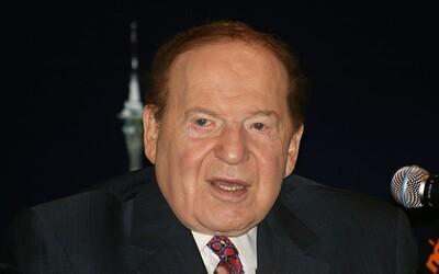 Američtí republikáni přišli o mecenáše, zemřel jeden z nejbohatších mužů světa Sheldon Adelson