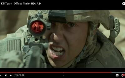 Američtí vojáci vraždí v Afghánistánu nevinné. The Kill Team zobrazuje psychický nátlak na mladíky nucené zabíjet na rozkaz