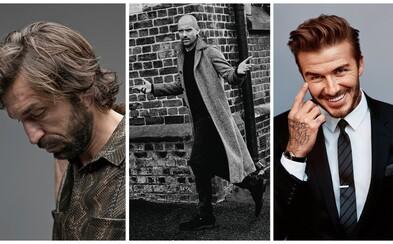 Andrea Pirlo, David Beckham či Pep Guardiola. Futbalisti a tréneri, ktorí svojím citom pre módu môžu pokojne inšpirovať aj vás