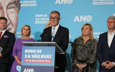 Andrej Babiš prohrál volby. Byli jsme u toho ve volebním štábu hnutí ANO (Reportáž)