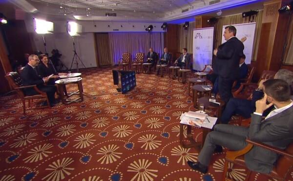 Andrej Danko v predvolebnej diskusii pripomenul Jána Slotu. Pozri si ako odišiel uprostred debaty a Matovič mu ironicky tlieskal