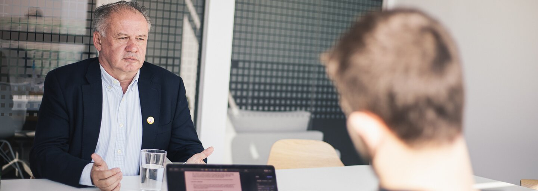Andrej Kiska: Ficovi ľudia sú v polícii a na prokuratúre dodnes (Rozhovor)