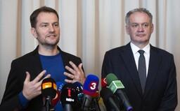 Andrej Kiska po stretnutí s Igorom Matovičom: Sme pripravení vojsť do koalície, máme však veľké nároky na morálny kredit