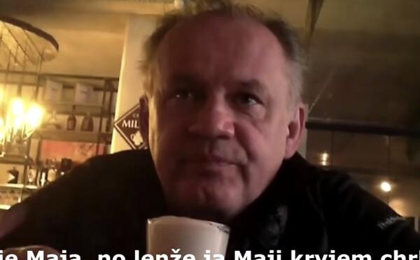 Andrej Kiska v hlavnej úlohe na novom tajomnom videu, zrejme si ho nahral podnikateľ z Popradu