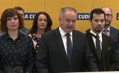Andrej Kiska: Začneme oficiálne rokovania o vstupe do vládnej koalície, nepôjdeme do nej za každú cenu
