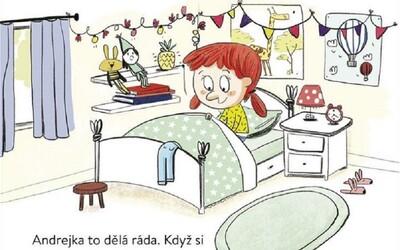 """""""Andrejka to dělá ráda, hladí si pipinku."""" Sexuálna kniha z Česka pre deti vyvolala na internete búrlivé diskusie"""