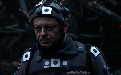 Andy Serkis ti dáva možnosť stať sa súčasťou Vojny o Planétu opíc