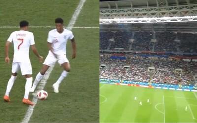 Angličané rozehráli a chtěli vyrovnat, zatímco Chorvati slavili. Zoufalí Rashford s Lingardem využili taktiku Panamy