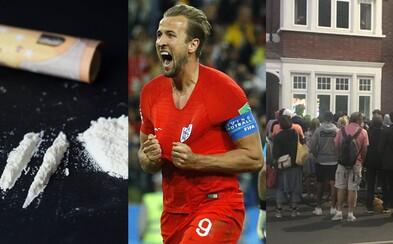 Anglickí díleri nestíhali po víťaznej penalte predávať kokaín. Fanúšikovia sledovali zápas aj cez okno na ulici