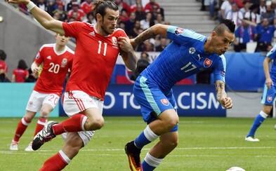 Ani bojovný výkon nestačil. Slovensko prehralo svoj prvý zápas proti Walesu o jeden gól