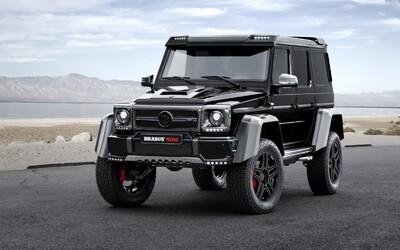 Ani G 500 4x4², nejnovější terénní bestie od Mercedesu, neunikla úpravě od Brabusu