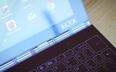 Ani tablet, ani laptop. Je inovatívny hybrid Lenovo Yoga Book s Halo klávesnicou prekvapením roka? (Recenzia)