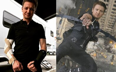 Ani zlomené ruky nezabránili Jeremymu Rennerovi od dokončenia komédie Taguj. Mohlo byť zranenie dôvodom jeho absencie v Infinity War?