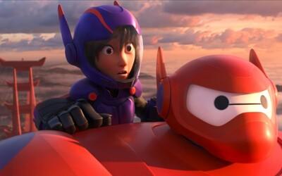 Animák Big Hero 6 ukazuje svoj potenciál v novom traileri. Dočkáme sa prekvapenia roka?