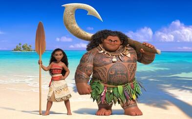 Animák Moana od Disney s Dwayneom Johnsonom našiel hlavnú ženskú predstaviteľku