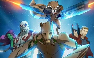 Animovaní Guardians of the Galaxy v prvom teaseri ukazujú Star-Lordove začiatky