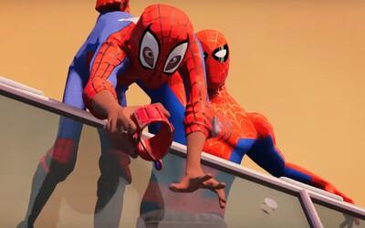 Animovaný Spider-Man otvára univerzum hrdinov s pavúčimi schopnosťami a v parádnom traileri opäť ohuruje jedinečným vizuálnym štýlom