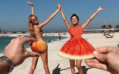Anjelik Victoria's Secret Romee Strijd uchvátila internet roztomilým záberom zo slnečného Dubaja
