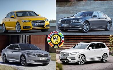 Anketa Auto roka 2016 pozná 7 finalistov. Vyhrá napokon nová A4-ka, 7-čka alebo napríklad Superb?