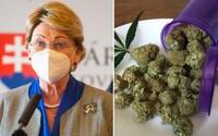 Anna Záborská je zásadne proti dekriminalizácii marihuany. Drogy považujeme za zlo, odkazuje