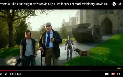 Anthony Hopkins vo vtipnej ukážke z Transformers: The Last Knight ukazuje, že film nebude len o masívnych explóziách