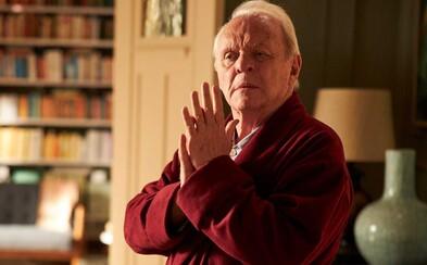 Anthony Hopkins získal Oscara za nejlepší herecký výkon. Skvělé drama The Father tě emotivně zničí